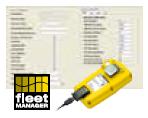 oprogramowanie Fleet Manager do detektora gazów