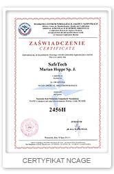 certyfikat-ncage