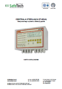 Centrala sterująca ET 8D
