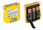 zestaw baterii alkalicznych do detektora gazów GasAlertQuattro