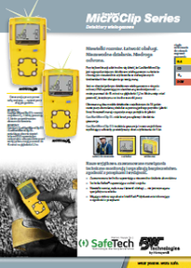 GasAlert MicroClip X3 frame